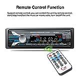 車オーディオ受信機、GW ruhiku BluetoothカーオーディオステレオFM DVD CD mp3プレーヤー受信機USB SD AUX入力6883u