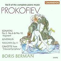Prokofiev: Piano Sonatas Nos. 5, 6, 10- Fragment / Juvenilia / Toccata / Gavotte (1995-05-23)