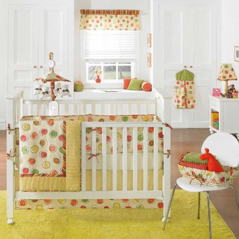 Crayon 4 Piece Baby Crib Bedding Set by Bananafish by Bananafish