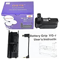 DSTE VG-A6500 バッテリーグリップ ブラック縦位置撮影互換 Sony Alpha 6500