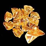 アクリルアイス  ロック  蛍光クリア ライトオレンジ(1kg)  / お楽しみグッズ(紙風船)付きセット