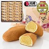 九里四里うまい十三里半 【ぽくぽく】 21個入/和菓子屋ならではのさつま芋の素朴な風味を生かした焼きいも風のお菓子です。