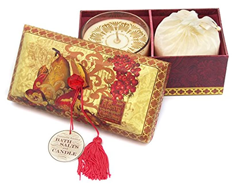 スラックアライメント最適パンチスタジオ バスソルト&キャンドル A Merry Christmas 55003