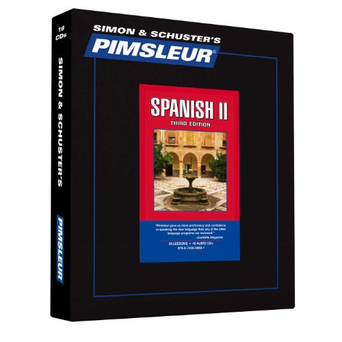 Download Pimsleur Spanish Level 2 CD: Learn to Speak and Understand Latin American Spanish with Pimsleur Language Programs (2) (Comprehensive) 074352893X
