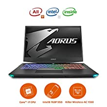 GIGABYTE AORUS 15世界初AIを搭載するゲーミングノートパソコン・All Intel Inside・Microsoft Azure AI /15.6インチ/ /6mm狭額縁/ i7-9750H/Samsung 8G*2/512G SSD//Win10/6本のヒートパイプ/9つ吸排気口 (144HZ | GTX1660 | i7-9750H | 8G*2 |512G SSD)