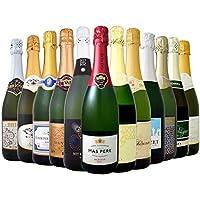 シャンパン製法入り辛口スパークリングワイン12本セット