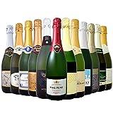 ★【タイムセール】シャンパン製法入り辛口スパークリングワイン12本セットが8,228円!