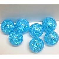 ビー玉 フラッシュマーブル ブルー 15mm 100粒入