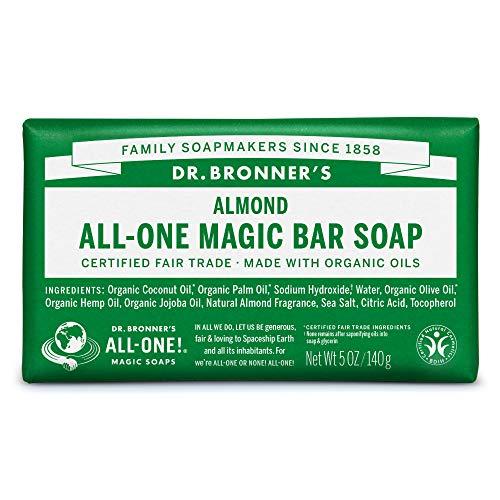 ドクターブロナー マジックソープバー(magic soap) 石鹸 アーモンド 140g ネイチャーズウェイ