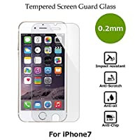 CASE FACTORY by nuglas Screen protector TEMPERED GLASS for iPhone8/7 日本製(AGC旭硝子製)ガラス使用 硬度9H 厚さ0.2mm 2.5Dラウンドエッジ 02tp7