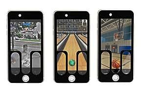 [ポケモンGOに最適]モンスター ボール投球プレート iPhone用 矯正ギブス ストレート専用 MBIP6 日本製 高耐久金属使用(iPhone6s/6専用)