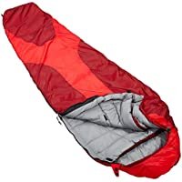 deuter(ドイター) 寝袋 オービット ±0 【左ジッパー】 ファイヤー×クランベリー [最低使用温度0度 ] DS37430-5520