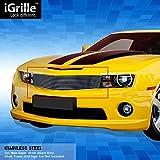 egrilleステンレススチールビレットグリルグリルFits 10–13Chevy Camaro