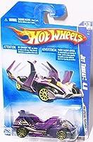 Hot Wheels 2009 HW Special Features Jet Threat 4.0 3/10 Purple [並行輸入品]