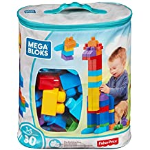 Mega Bloks DCH63 80-Piece Big Building Bag - Classic