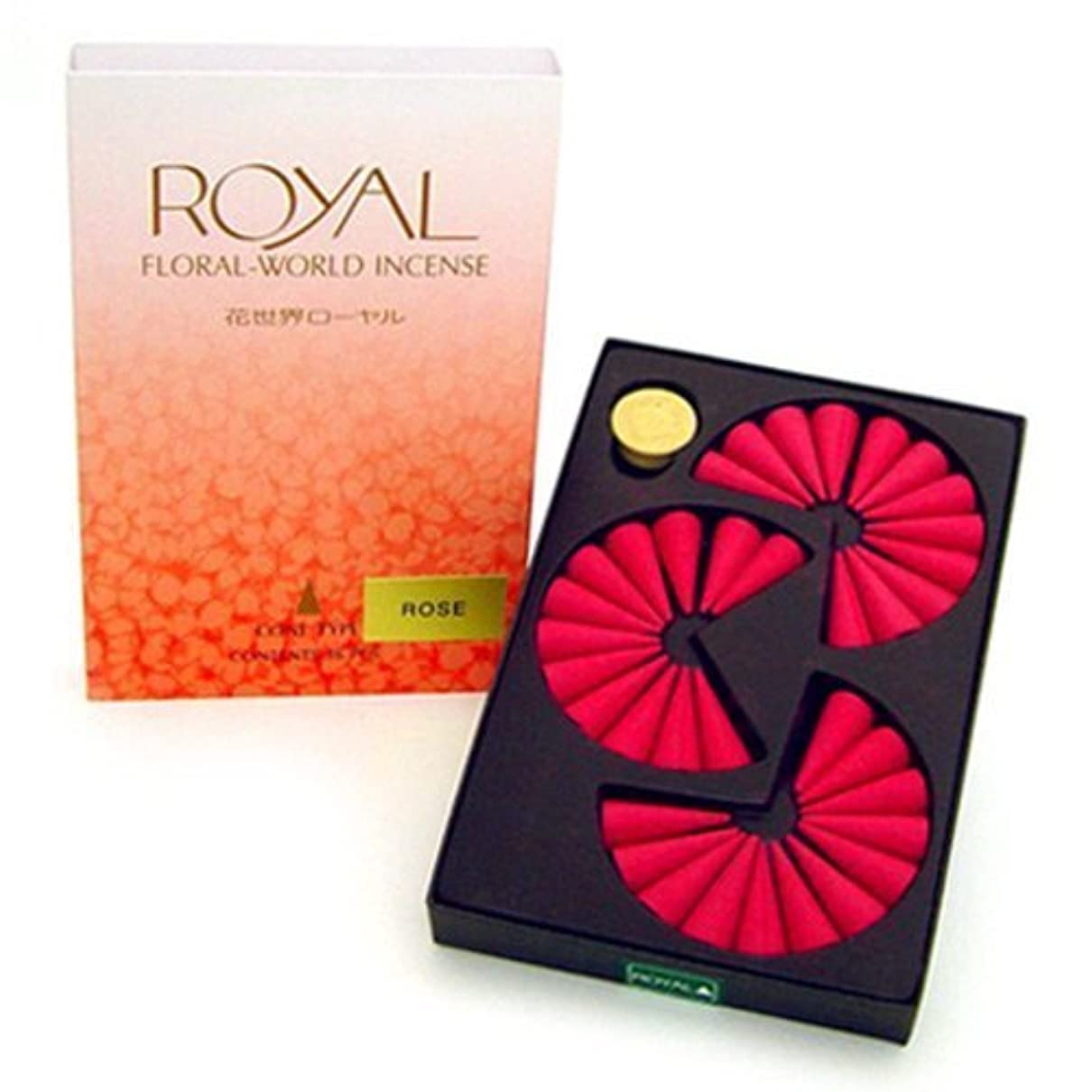 国勢調査地下鉄冗長Shoyeido's Rose Incense Cones - Set of 36 Cones by SHOYEIDO [並行輸入品]
