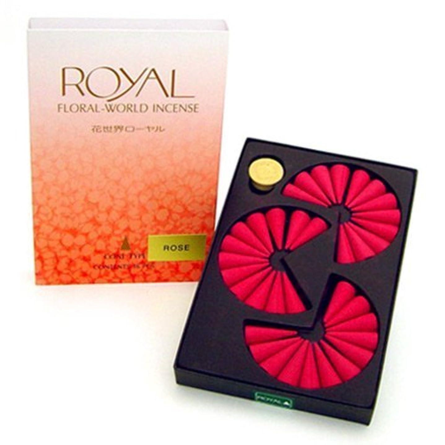 操縦する逃れる薬理学Shoyeido's Rose Incense Cones - Set of 36 Cones by SHOYEIDO [並行輸入品]