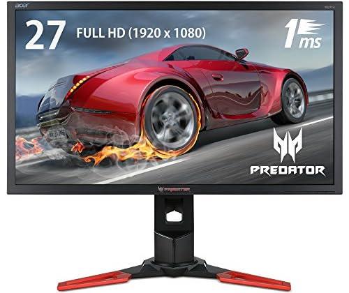 Acerゲーミングモニター XB271Hbmiprz 27インチ TN/非光沢/1920x1080/300cd/1000:1/1ms/ブラック