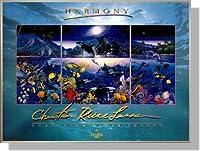 クリスチャン・ラッセンのポスター *Harmony 【ポスター+フレーム】ステン 約66 x 91cm