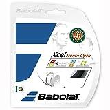 Babolat(バボラ)エクセルフレンチオープン 125/130/135 テニス ガット BA241111 900ブラツク 125