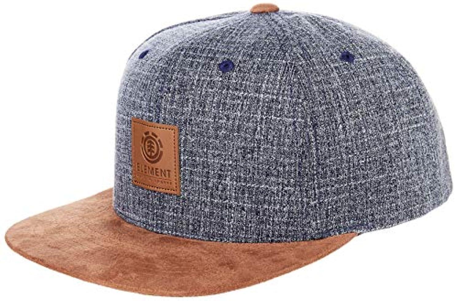 刻むメガロポリスレジ[エレメント] [ユニセックス] スナップバック キャップ (サイズ調整可能)[ AI022-901 / STATE II CAP ] 帽子 おしゃれ