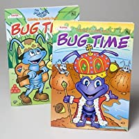 Bulk Buys Coloring Bookバグ時間2ASST–ケースof 120
