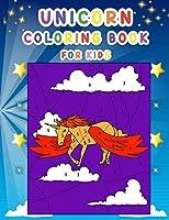 Unicorn Coloring Book for Kids: Unicorn Fun Coloring Book
