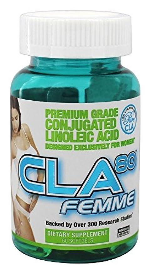 削る影響国民海外直送品 ALLMAX Nutrition CLA80 Femme -- 1000mg - 60 Softgels