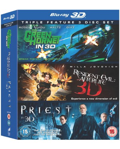 Green Hornet, the / Priest (2011) / Resident Evil: Afterlife - Set