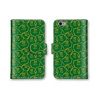 【ノーブランド品】 iphone SE スマホケース 手帳型 模様 4番 スマホカバー かわいい おしゃれ 携帯カバー iphone SE ケース