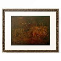 パウル・クレー Paul Klee 「Old Cemetery」 額装アート作品