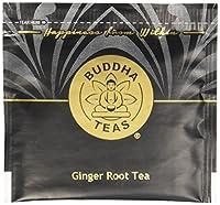 有機根ショウガ茶(コーシャー、ノンカフェイン、遺伝子組み換え材料不使用、無漂白ティーバッグ使用、18袋入り)