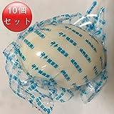 鹹蛋 1個入りX10個【10個セット】 アヒルの卵 茹塩蛋(茹で塩卵) 端午の節句