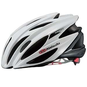 OGK KABUTO(オージーケーカブト) ヘルメット GAIA-R パールホワイト サイズ:M/L