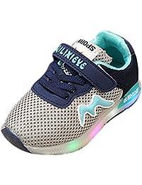 スニーカー キッズ LEDシューズ 発光シューズ メッシュ 男女通用 運動靴 子供用 13.5cm-19.1cm kootk