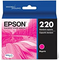 Epson DURABrite Ultra Standard-Capacity Ink Cartridge, Magenta (T220320) [並行輸入品]