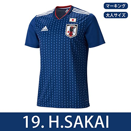 アディダス サッカー日本代表 2018 ホームレプリカユニフォーム半袖 19.酒井宏樹 cv5638 L