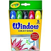 クレヨラ お絵かき ウインドウクレヨン 5色 Window Crayons 529765