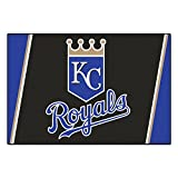 Fanmats MLB Kansas City Royalsナイロン面5 x 8 Plush Rug