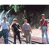 ブロマイド写真★『スタンド・バイ・ミー』線路を歩く4人/リバー・フェニックス、コリー・フェルドマン、ジェリー・オコネル、ウィル・ウィートン