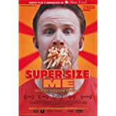 Super Size Me - 映画ポスター - 11 x 17