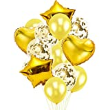 Tivivose 14本セット INS 風船 マカロンバルーン アソート風船 ラテックスバルーン パーティー 誕生日 結婚式 飾り付け イベントの飾りアルミ風船 ハートバルーン 4ホイルヘリウム気球 赤い 心 バレンタインデー 結婚式 婚約の装飾 誕生日 風船 誕生日 飾り付け セット 風船 気球 フォイルバルーン 誕生日パーティーデコレーション ハッピーバースデーバナー シャンパンボトルゴブレット 誕生日パーティー用品 コンフェッティバルーン 誕生日 飾り付け 風船 パーティー 装飾 セット 記念日 飾り 日 飾り セット 風船 ゴールド HAPPY BIRTHDAY 装飾 バースデー ガーランド バースデー パーティー 誕生日 飾り付け