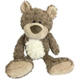 Checkered Fun Teddy Bear - Stuffed Animal - Plush Toy - Classic Cute Soft Brown Stuffed Teddy Bear - The Cutest, Softest, Cud