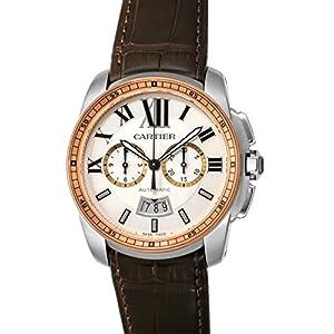 [Cartier]カルティエ 腕時計 CALIBRE ホワイト文字盤 W7100043 メンズ 【並行輸入品】