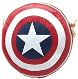 (ウィッチーズ) Witches 特選バッジ付き キャプテンアメリカ シールド 盾 型バッグ リュック サック 鞄 サイズ 選択 (M / L / S )