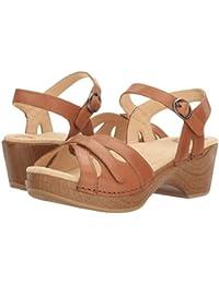 (ダンスコ) Dansko レディースサンダル?靴 Season Camel Full Grain US Women's 11.5-12 26-26.5cm Regular [並行輸入品]