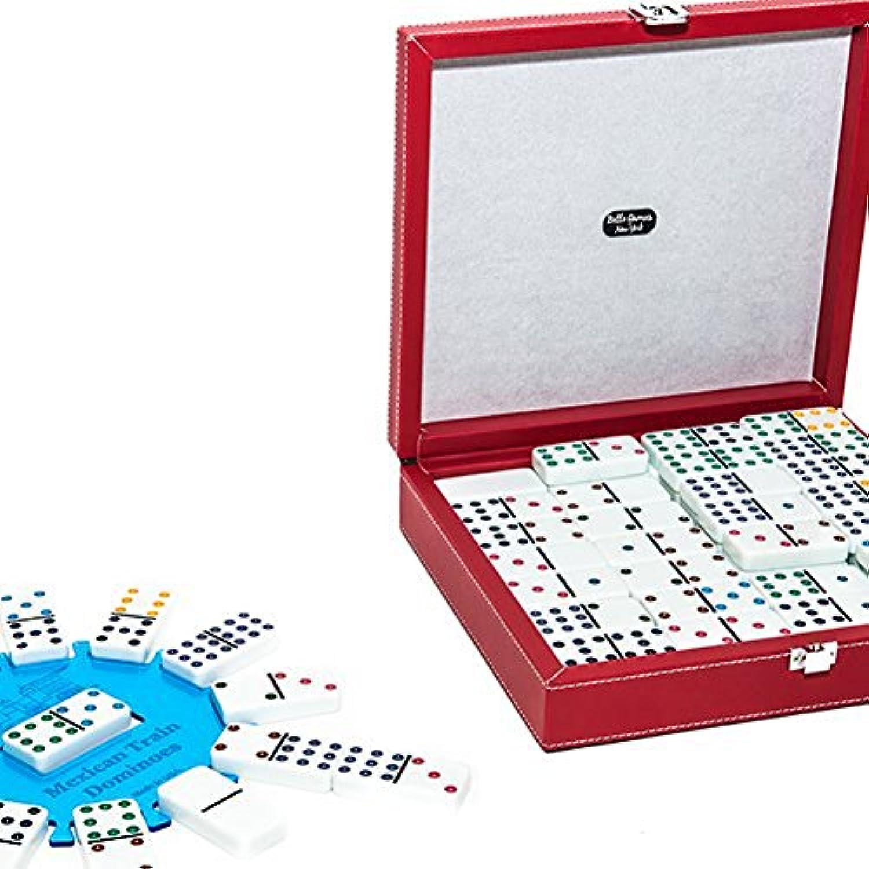 [ベロゲームニューヨーク]Bello Games New York, Inc. 12th. Street Double Twelve Domino Set with Free Bonus Hub 712AA [並行輸入品]