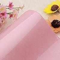 yazi-キッズルーム ウォールステッカー かんたん貼付シール 家具リメイクシート 補修 防水 防油汚れ 傷防止 可愛いピンク 61cmx50cm