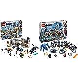 レゴ(LEGO) スーパー・ヒーローズ  アベンジャーズ・コンパウンドでの戦い 76131 ブロック おもちゃ 男の子 車 &  スーパー・ヒーローズ  アイアンマンのホール・オブ・アーマー 76125 ブロック おもちゃ 男の子【セット買い】