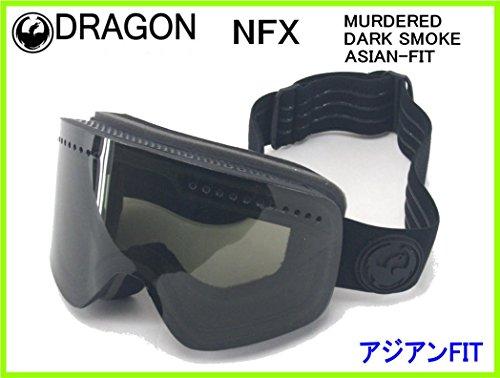 2018 DRAGON NFX MURDERED/DARK SMOKE ASIAN-FITドラゴンゴーグル 348686429348アジアンフィット